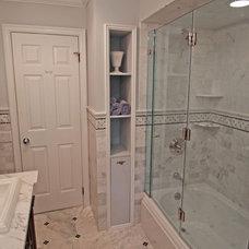 Traditional Bathroom by Anna Marie Fanelli - Floor & Decor