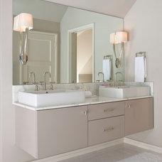 Contemporary Bathroom by TATUM BROWN CUSTOM HOMES