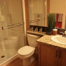 Bathroom by Crestview Floors