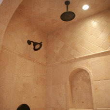 Bathroom by Crestview Floors