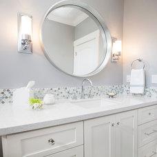 Contemporary Bathroom by A.L. Interiors