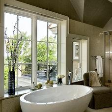 Bathroom by Crisp Architects