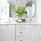 Roseville Transitional Bathroom Sacramento By Art
