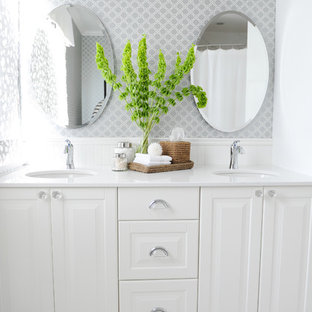 Crisp White Bathroom