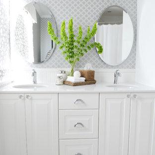 Simple White Bathroom | Houzz
