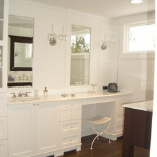 Traditional Bathroom by Millennium Cabinetry