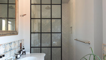 Crittall Style Shower screen
