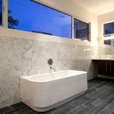 Contemporary Bathroom by Croix Custom Homes