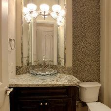 Traditional Bathroom by Croix Custom Homes
