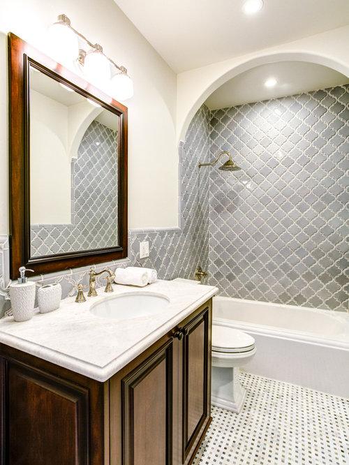 Arabesque Tile Home Design Ideas Pictures Remodel And Decor