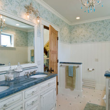 Traditional Bathroom by Designs by Dawn at the Lake Street Design Studio
