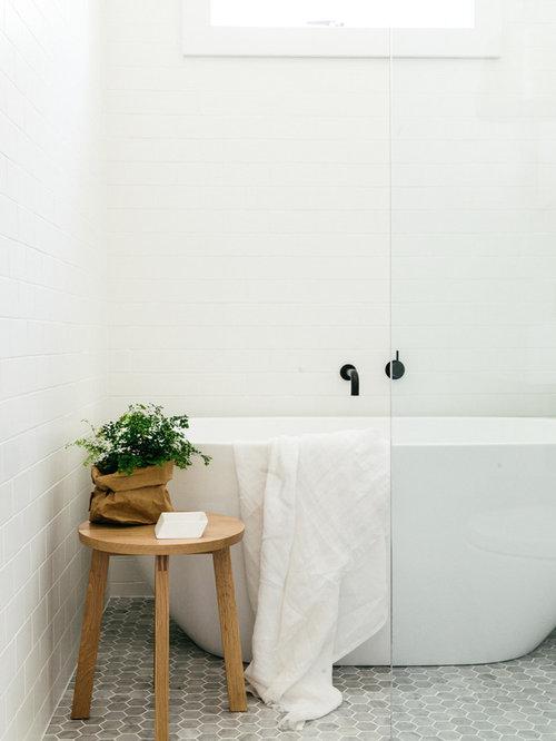Skandinavische Badezimmer In Sydney: Design-ideen & Beispiele Für ... Skandinavische Badezimmer