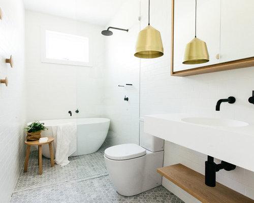 Scandinavian Design Bathroom: Best Scandinavian Bathroom Design Ideas & Remodel Pictures