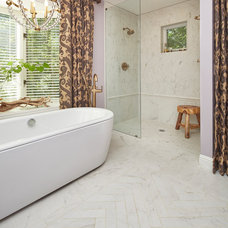 Traditional Bathroom by Hudson Valley Lighting