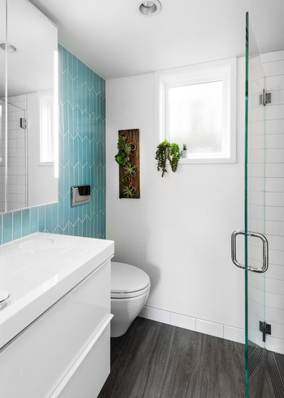 Contemporain Salle de Bain by Board & Vellum