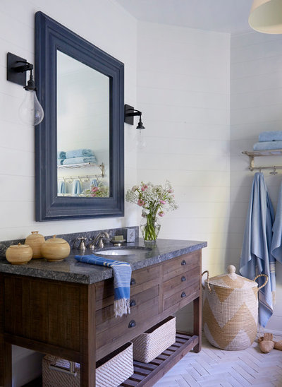 Coastal Bathroom by Emily Griffin Design