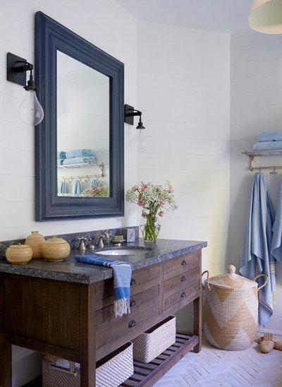 Beach Style Bathroom by Emily Griffin Design