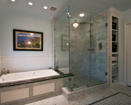 Oklahoma City Bathroom Design Ideas Renovations Photos With An Alcove Shower