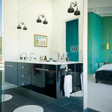 Contemporary Bathroom by Marla Schrank Interiors