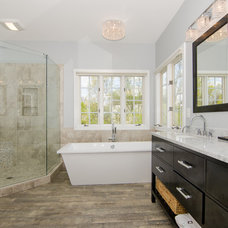 Eclectic Bathroom by Abbey Design Center