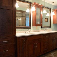 Craftsman Bathroom by Western Products