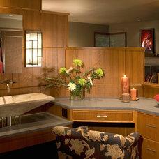 Modern Bathroom by Collins Group Design, Inc.
