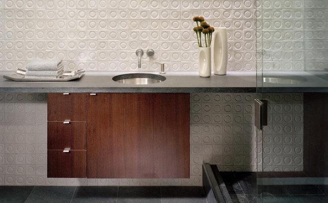 Modern Bathroom by Roger Hirsch Architect