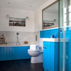 Beach Style Bathroom by Cotton Tree Interiors