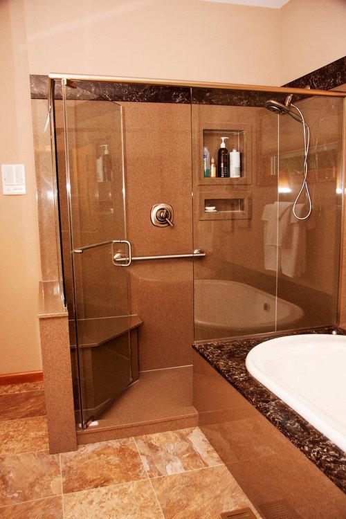 Cultured Marble Vs Tiled Shower