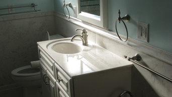 Cultured Marble Master Bath