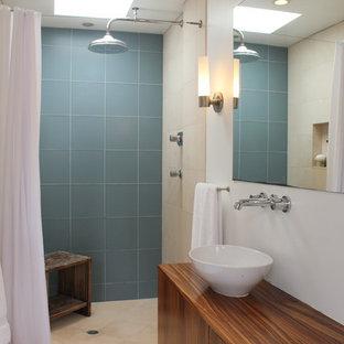 Glass Tile Shower | Houzz