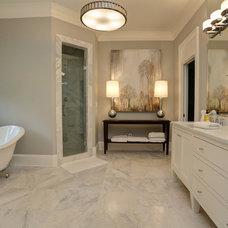 Traditional Bathroom by John Willis Homes