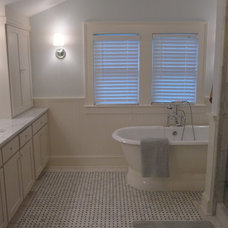 Traditional Bathroom by Kim Brown Interiors