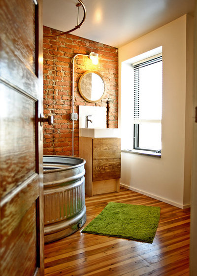 Eclectic Bathroom by Craftwork