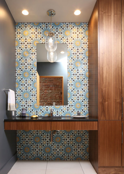 Contemporary Bathroom by DeOld Andersen Architecture LLC