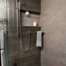 Modern Bathroom by RemodelWest