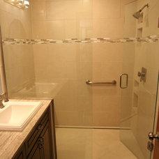 Contemporary Bathroom by 21st Century Building Company