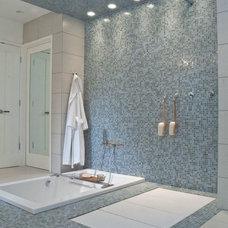 Contemporary Bathroom by Wrightworks, LLC