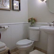 Traditional Bathroom by Catherine Alison Interiors