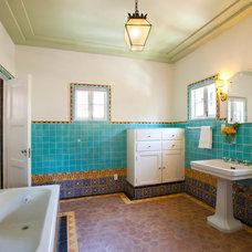 Mediterranean Bathroom by Woodson & Rummerfield's House of Design