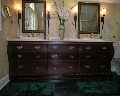 remarkable curved front bathroom vanity   Curved Front Vanity Home Design Ideas, Pictures, Remodel ...