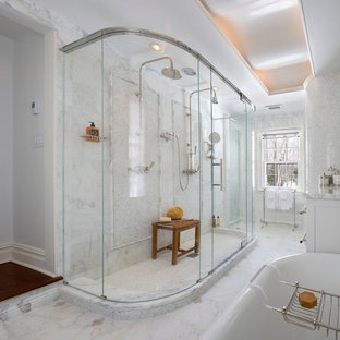Curved Glass Shower Houzz