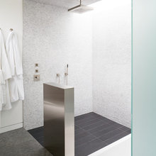 Sharp Angles in the Bathroom