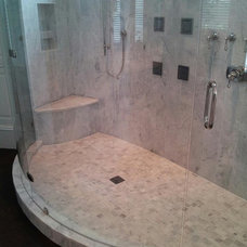 Modern Bathroom by Buckhannon Brothers Tile