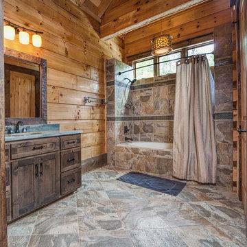 Custom 9,800 sf Log Home
