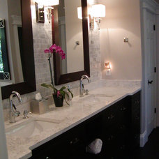 Contemporary Bathroom by J & S HOME BUILDERS INC.