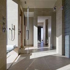 Southwestern Bathroom by Swaback Partners, pllc