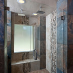 Masculine bathroom renovation contemporary bathroom - Bathroom renovation order of trades ...