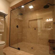 Contemporary Bathroom by Aloha Home Builders