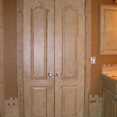 Traditional Bathroom Custom Bath, with full body spray